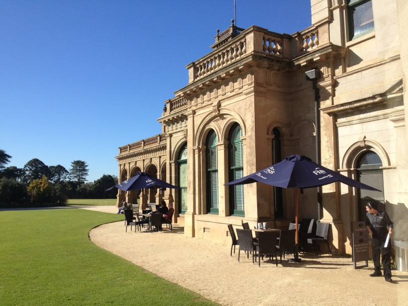 The Werribee Manor, the site of the great Australian novel I am supposed to be working on.